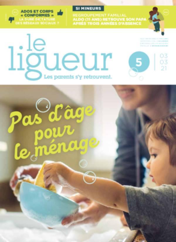 Le Ligueur et les parents, 72e année, n°5 - 3 mars 2021 - Pas d'âge pour le ménage