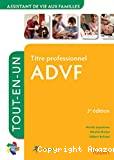 Titre professionnel ADVF [assistant de vie aux familles]