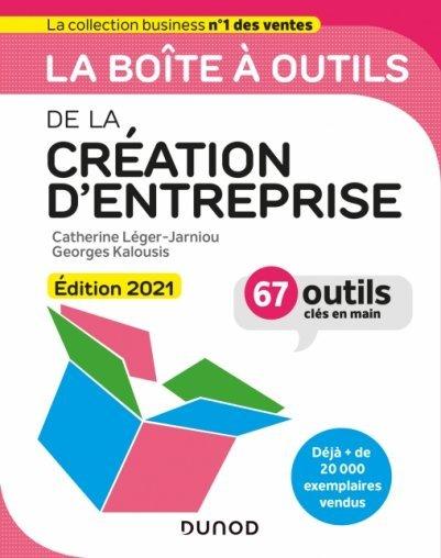 La boîte à outils de la création d'entreprise, Édition 2021