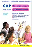 Enseignement professionnel CAP petite enfance