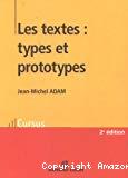 Les textes, types et prototypes