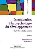 Introduction à la psychologie du développement