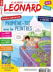 Le Petit Léonard, n°259 - Juillet - août 2020 - Promène-toi avec les peintres