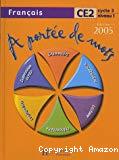A portée de mots : français CE2, cycle 3-niveau 1