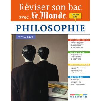 Philosophie Terminale, séries L, ES, S