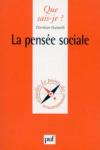 La pensée sociale