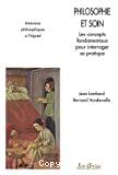 Philosophie et soin