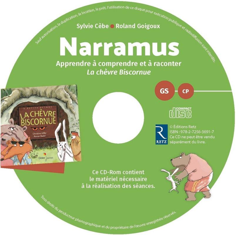 """Narramus GS-CP : apprendre à comprendre et à raconter avec """"La chèvre biscornue"""""""