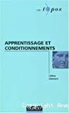 Apprentissage et conditionnements