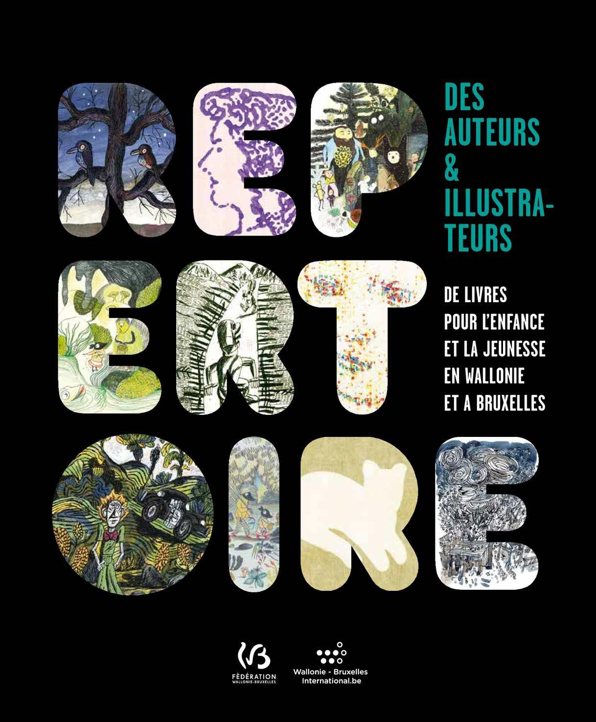 Répertoire des auteurs & illustrateurs de livres pour l'enfance & la jeunesse en Wallonie et à Bruxelles