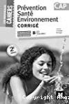 Prévention Santé Environnement - Corrigé