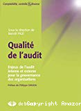 Qualité de l'audit