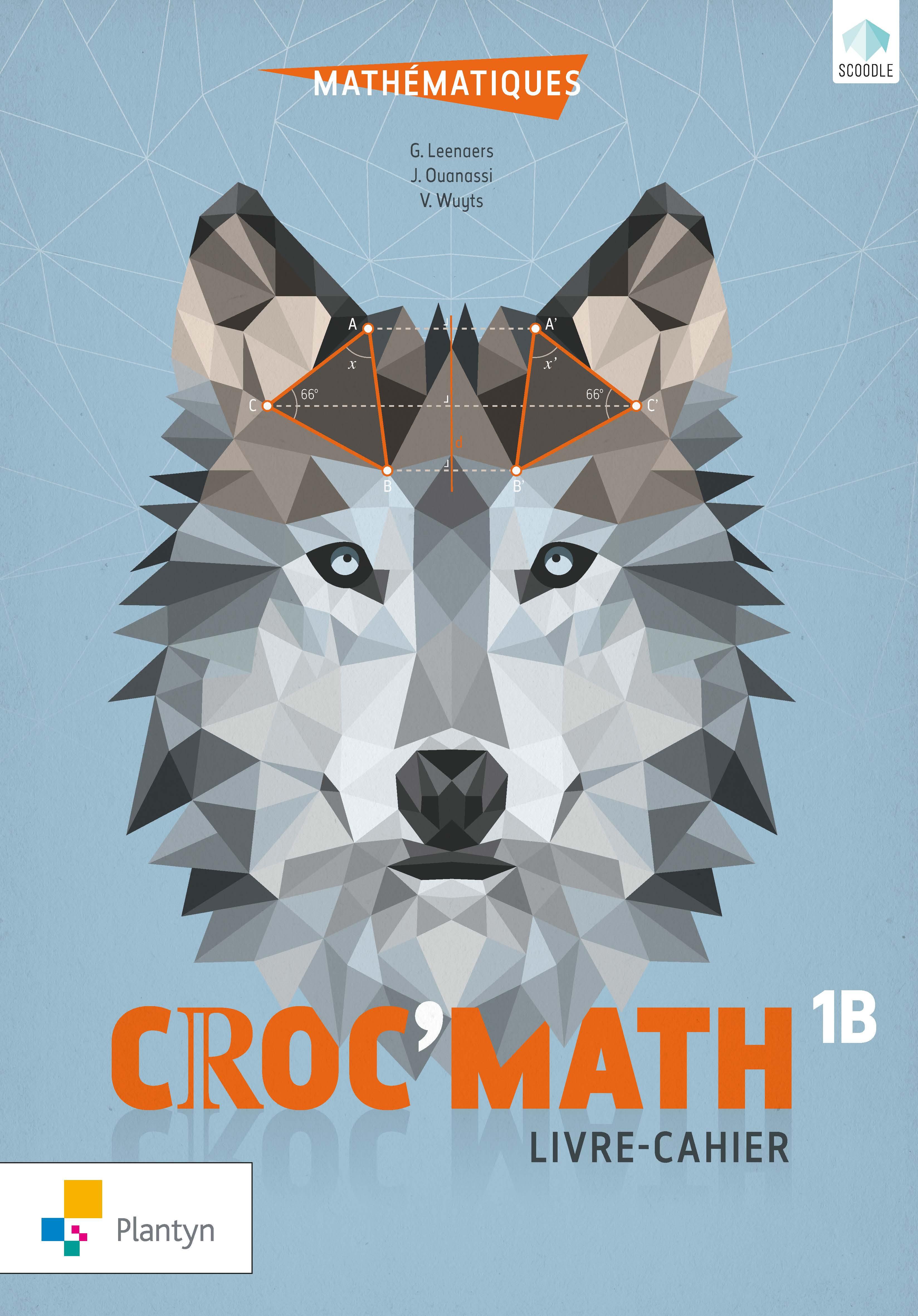 Croc'math 1B : livre-cahier
