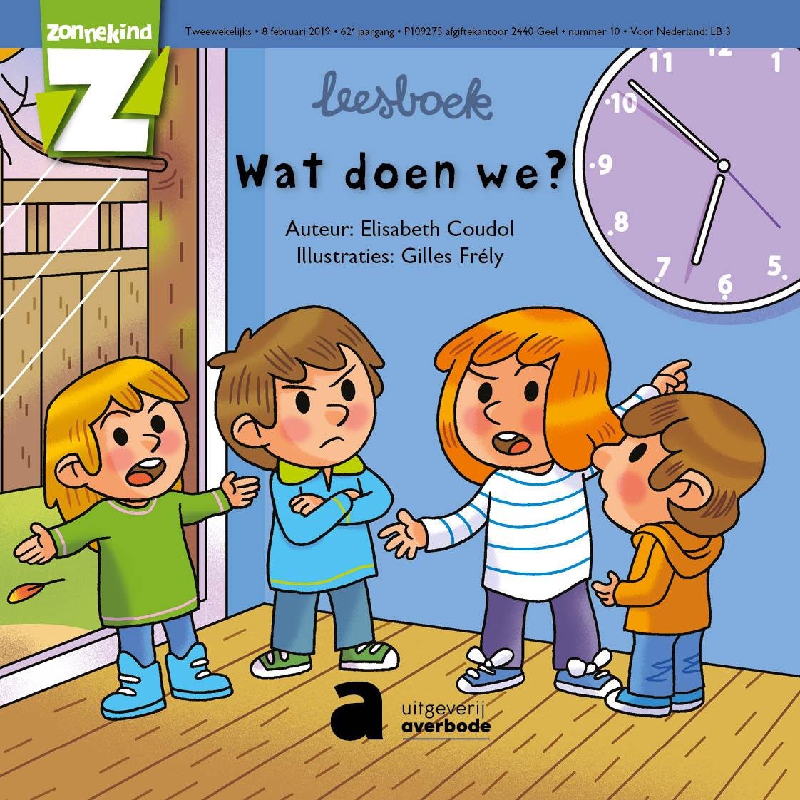 Zonnekind, N°10 - leesboek - 8 februari 2019 - Wat doen we?