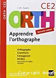 ORTH apprendre l'orthographe, CE2