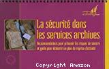 La sécurité dans les services archives