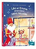 Léo et Emma attendent saint Nicolas