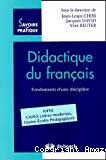 Didactique du français