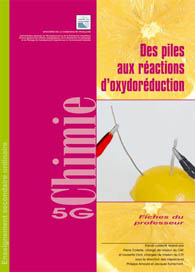 Des piles aux réactions d'oxydoréduction