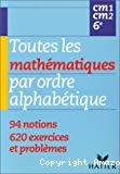 Toutes les mathématiques par ordre alphabétique