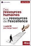 Des ressources humaines aux ressources de l'excellence