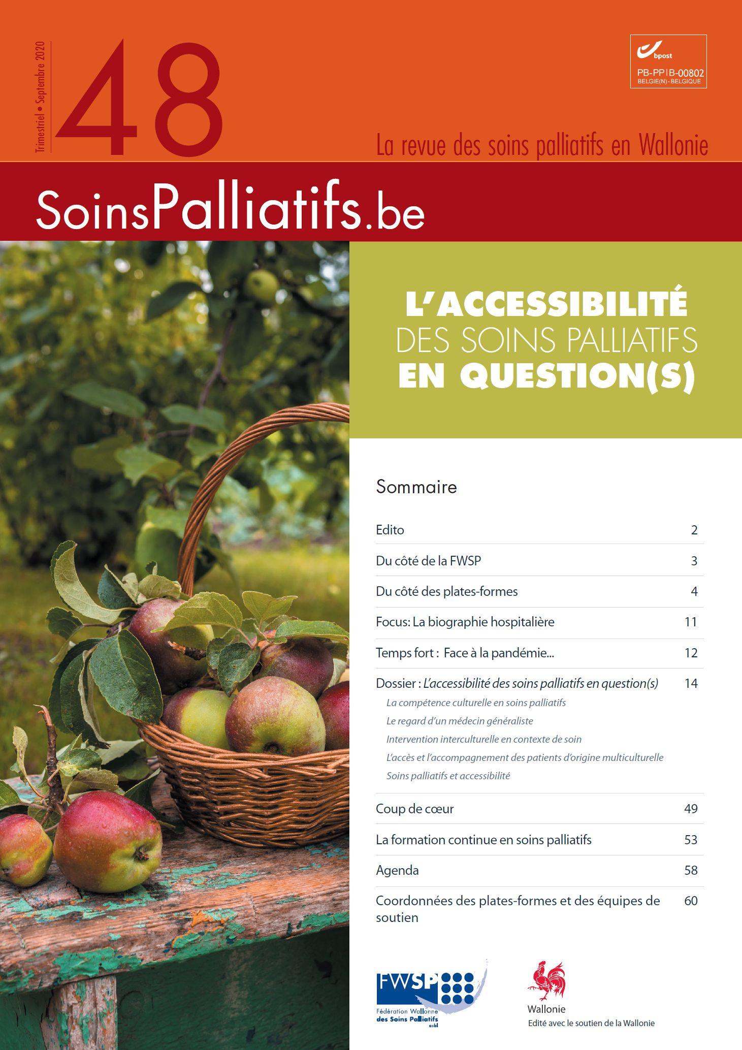 L'accessibilité des soins palliatifs en question(s)