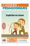 N°551 - février 2019 - Dossier: expliciter en classe (Bulletin de Cahiers Pédagogiques, N°551 [18/02/2019])