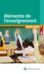 Mémento de l'enseignement 2014-2015