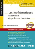 Les mathématiques au concours de professeur des écoles : volet 2