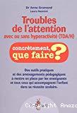 Troubles de l'attention avec ou sans hyperactivité, TDA-H
