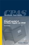 Travail social et écriture légale en CPAS