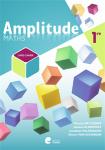 Amplitude maths 1re : livre-cahier