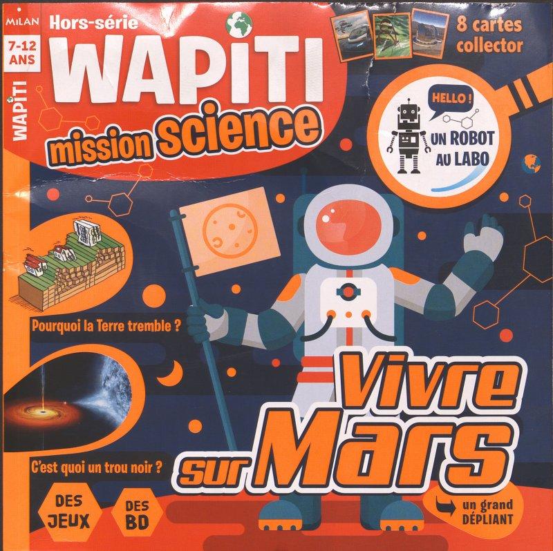 HS 59 - Automne 2017 - Vivre sur Mars (Bulletin de Wapiti, HS 59 [01/10/2017])