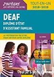 DEAF Diplôme d'Etat d'Assistant Familial