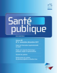L'émergence de la question de la sécurité des patients en France