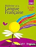 Observation réfléchie de la langue langue française cycle 3 CM2