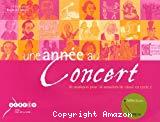 Une année au concert : 36 musiques pour 36 semaines au cycle 2