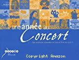 Une année au concert : les aventures musicales de Léna et Tom au cycle 1