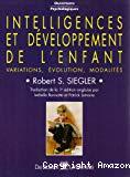 Intelligences et développement de l'enfant