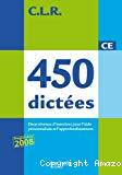 450 dictées : CE