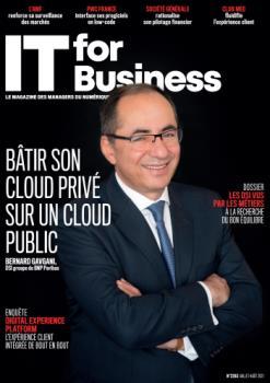 N°2263 - Juillet - août 2021 - Bâtir son cloud privé sur un cloud public (Bulletin de IT for Business, N°2263 [01/07/2021])