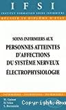 Soins infirmiers aux personnes atteintes d'affections du système nerveux. Electrophysiologie