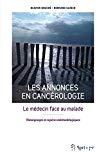 Les annonces en cancérologie