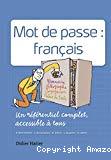 Mot de passe : français