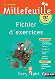 Le nouveau Millefeuille CE1, cycle 2 : fichier d'exercices