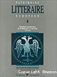 Patrimoine littéraire européen, 05. Premières mutations de Petrarque à Chaucer