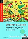 Initiation à la poésie