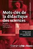 Mots-clés de la didactique des sciences