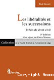 Les libéralités et les successions