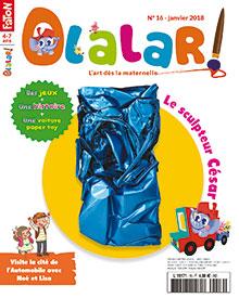 Olalar !, N°16 - Janvier 2018 - Le sculpteur César